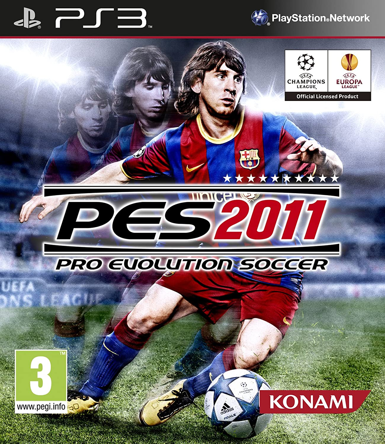 PES 2011 PS3 Gameplay