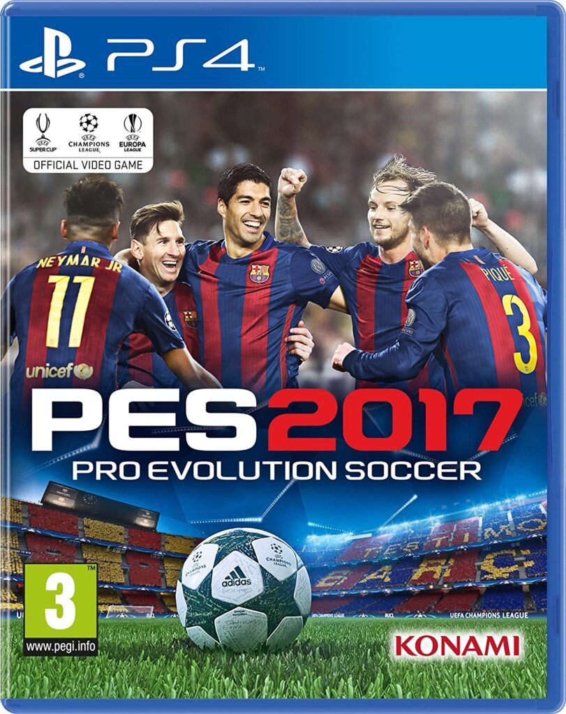 PES 2017 PS3 Store