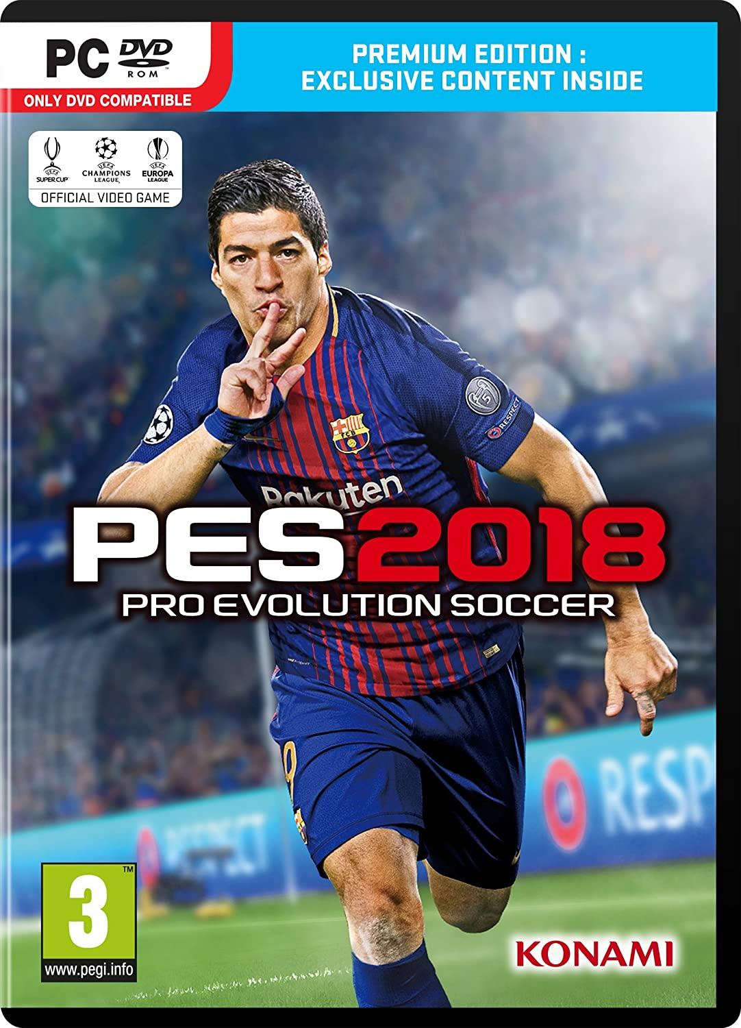 PES 2018 PlayStation3 Patch with Newest Feature Updates