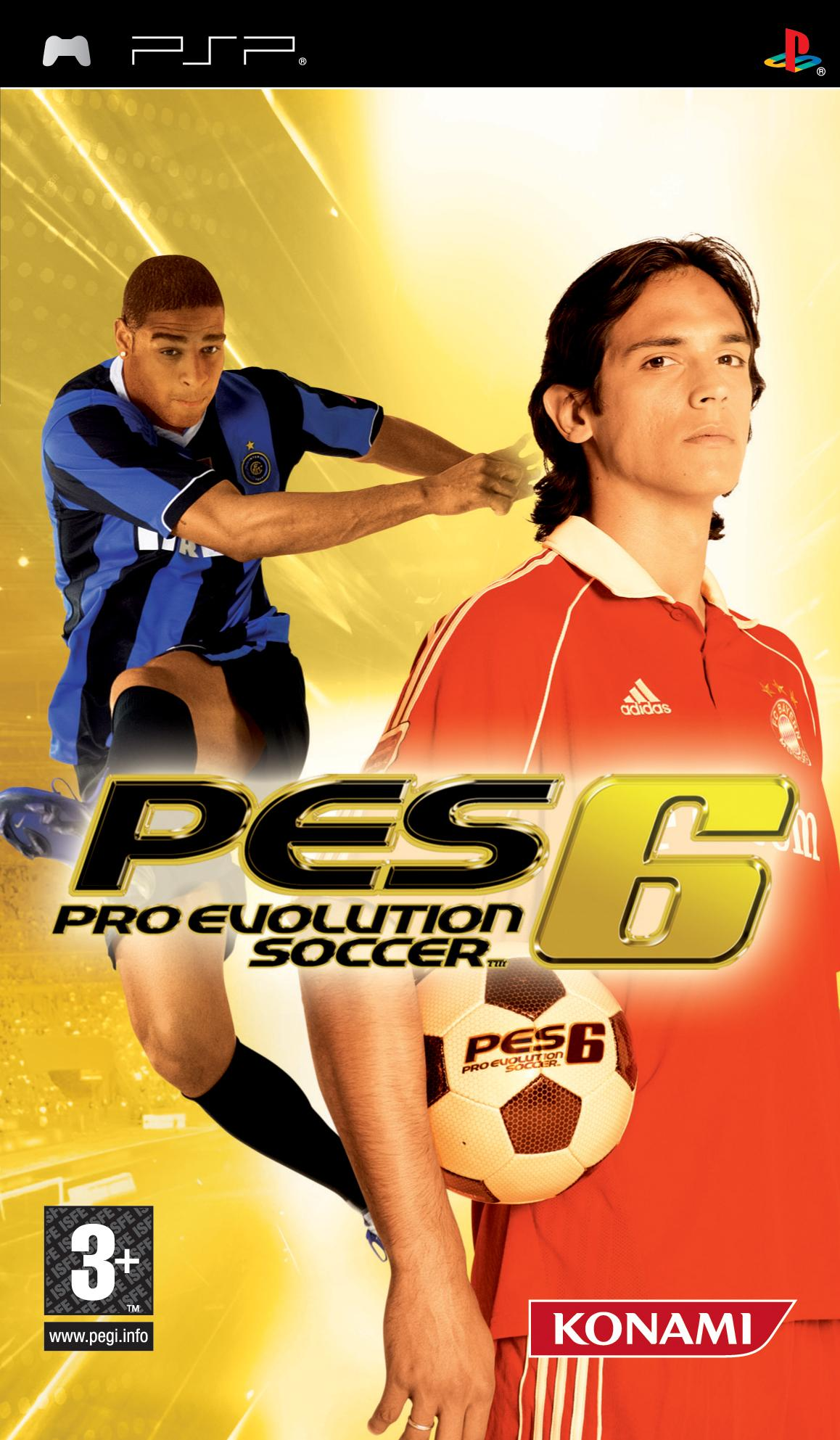 PES 6 PS3 with Patch 2020