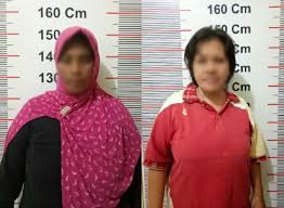 Penggerebekan 4 IRT Penjudi di Minahasa